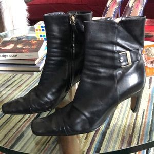 Chanel ankle boots booties
